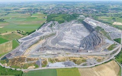 Voiries de l'extension desCarrières du Hainaut